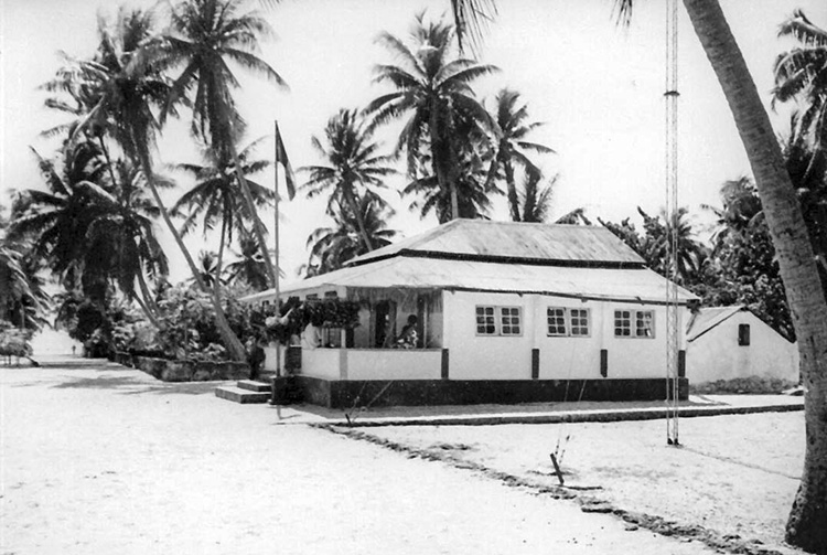 Ancienne chefferie et mairie de Faaite en 1967