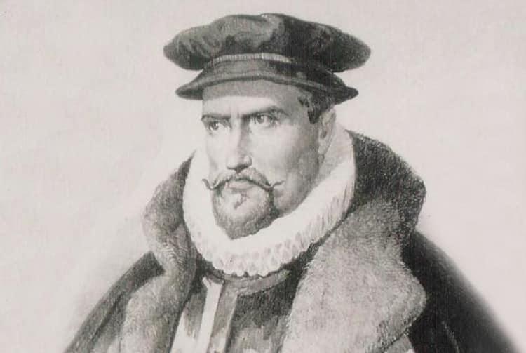Fernandez de Quiros, navigateur portugais