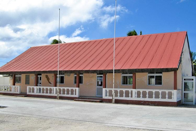 Maison communale de Hao en 2013
