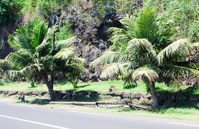 Source Vaipiihoro, le bain de Hina