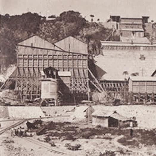 Silos de stockage du phosphate 1920-1930