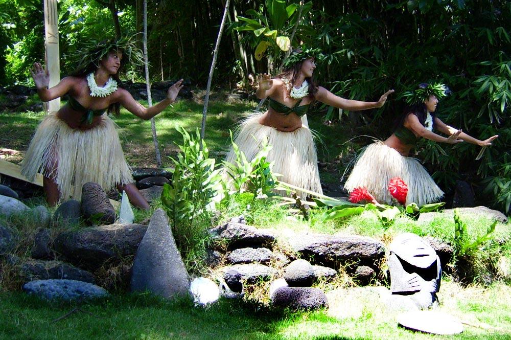 ceremonie au marae Tupuhaea de Hamuta
