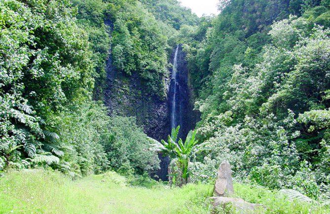 Cascade de la Maruia, à Papara. © Tahiti Heritage