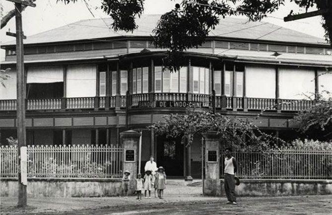 La Banque de l'Indochine de Papeete en 1940