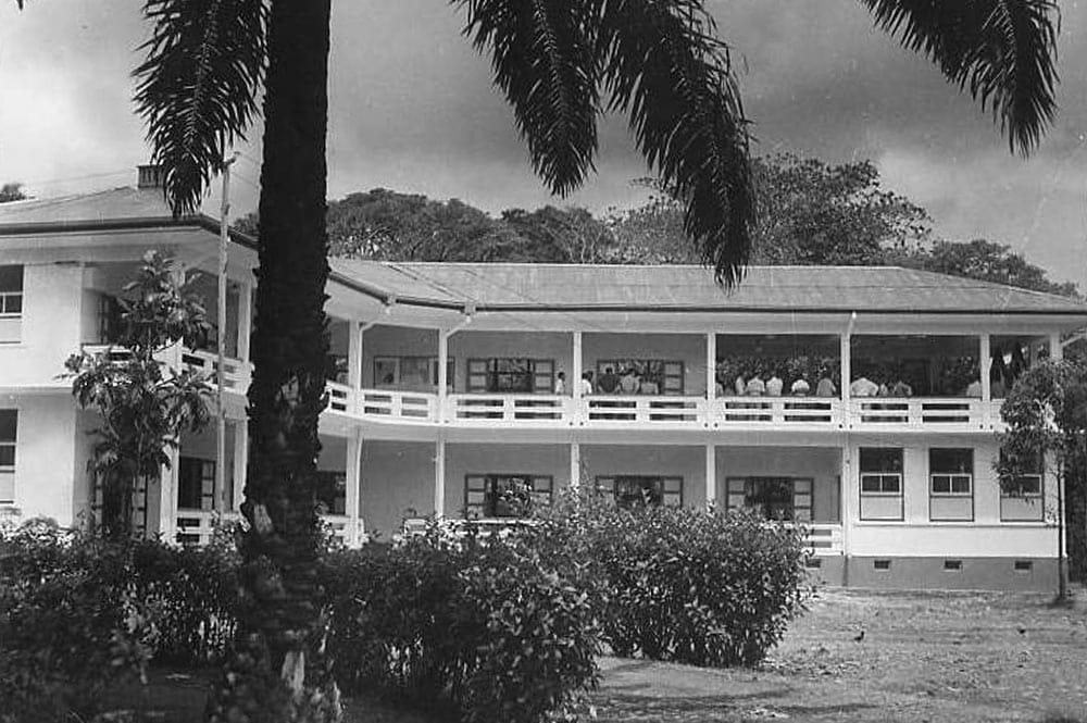 Institut Malardé de Tahiti en 1949