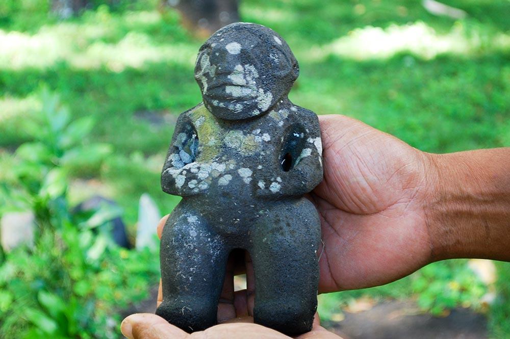 Tiki du marae Tupuhaea de Hamuta