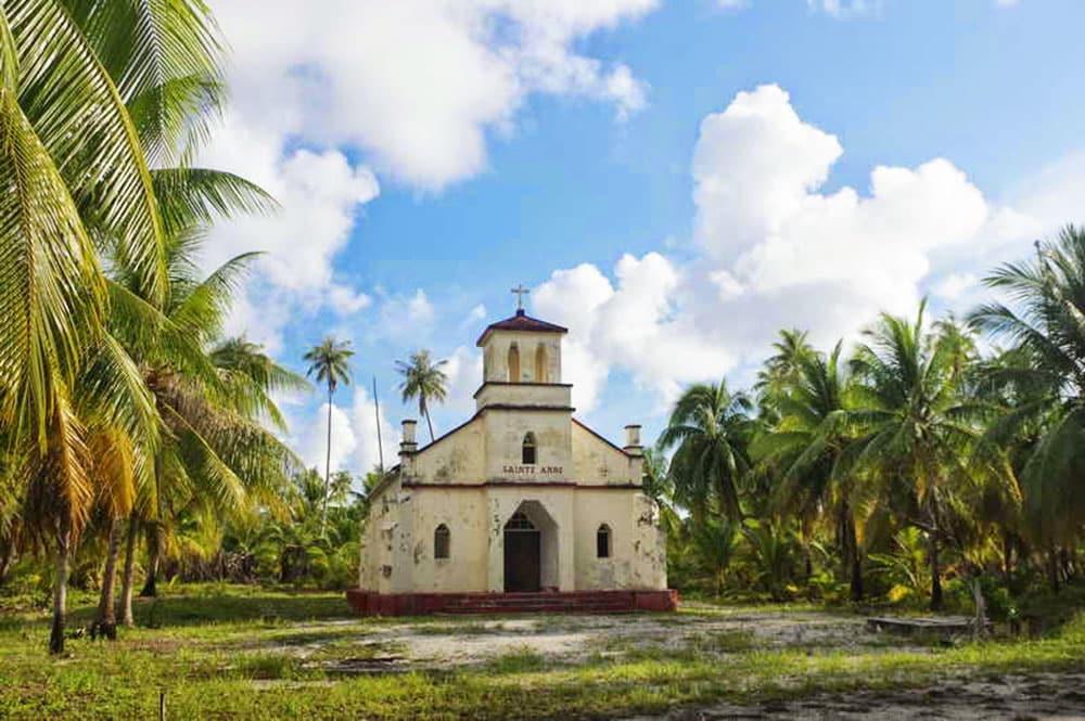 Eglise Saint-Anne de Otepipi - Rangiroa