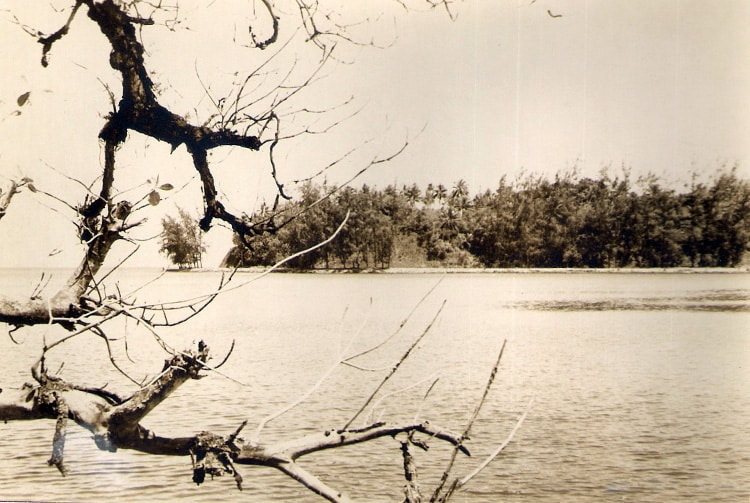 La baie de Fort Phaeton en 1970. Photo Cols bleus