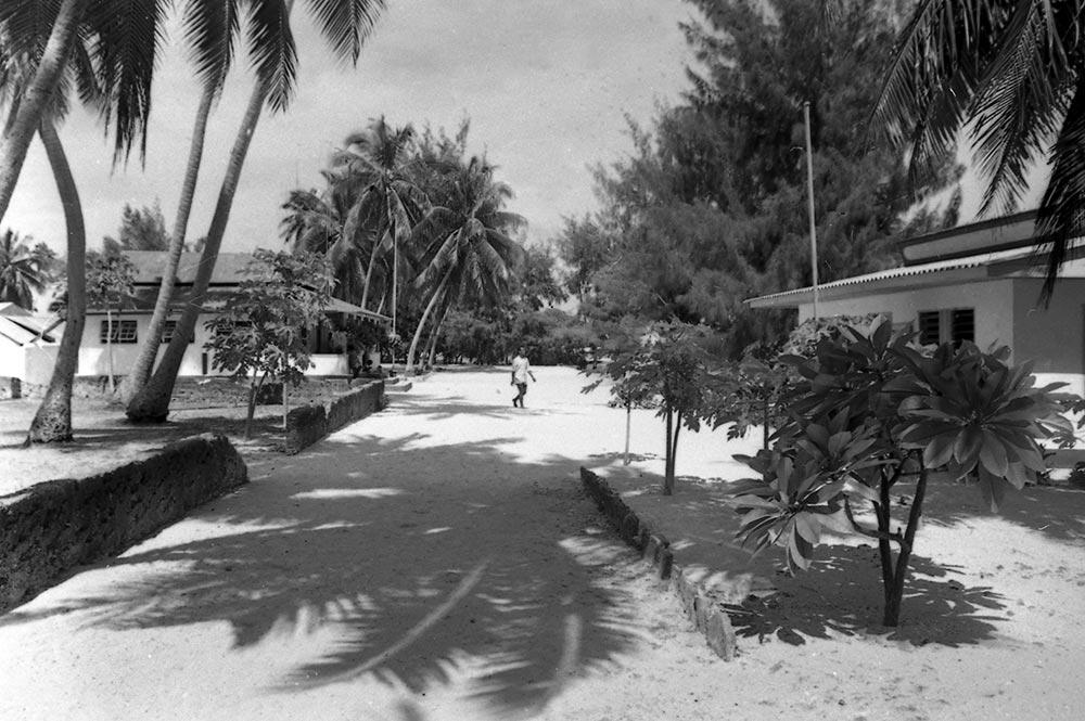 Le village de Tearavero à Kauehi en 1967