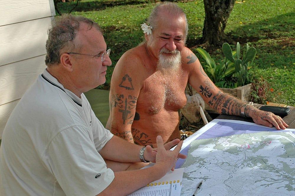 Recensement du patrimoine de Tubuai. Olivier Babin et Raymond Graffe.