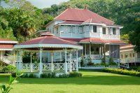 La Saintonge, hotel de ville de Arue, Tahiti.