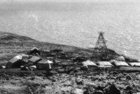 Forage Dominique en 1973, sur la crête Est de la baie de Avaneo à Eiao