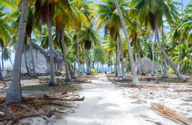 Ancien village de Hokikakika - Fakahina © Tahiti Heritage