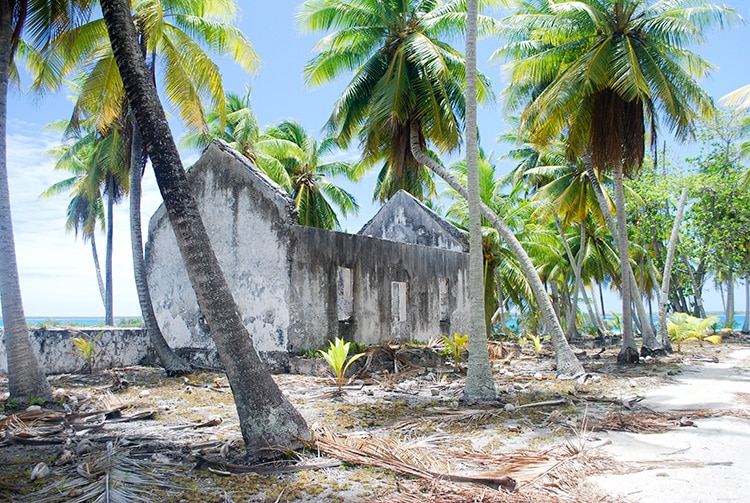 Ancien village de Fakahina © Tahiti Heritage
