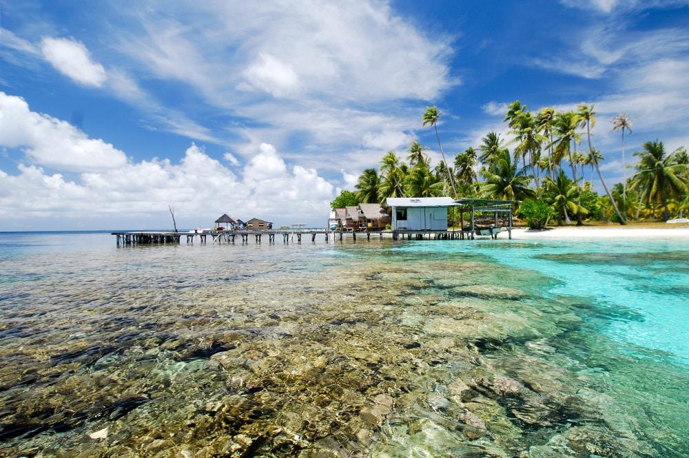 Tetamanu, atoll de Fakarava. Photo Olivier Babin