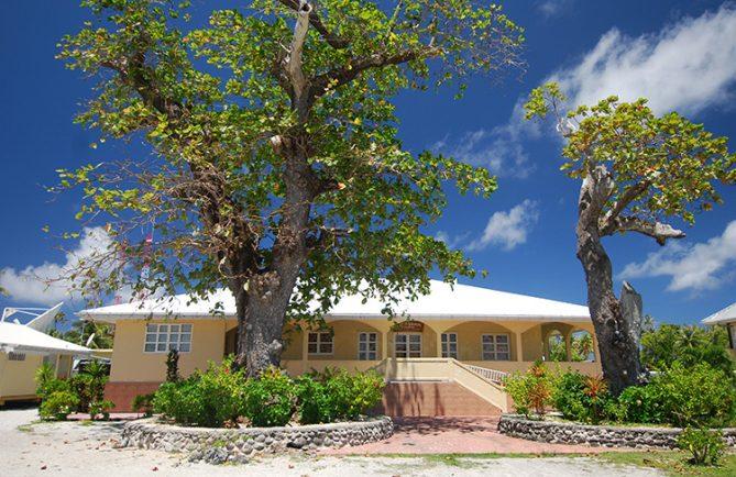Mairie de Fakarava, Tuamotu © Tahiti Heritage
