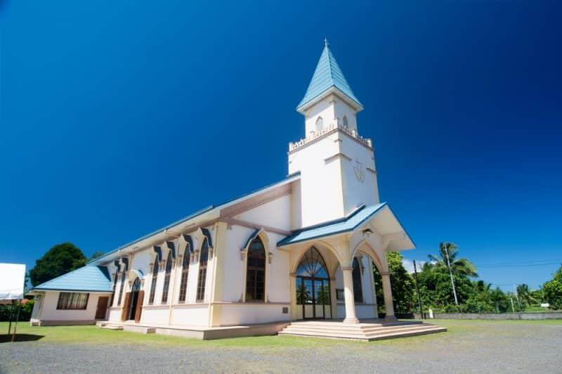 Eglise Sainte-Elisabeth de Papeari - 2015 © Tahiti Heritage