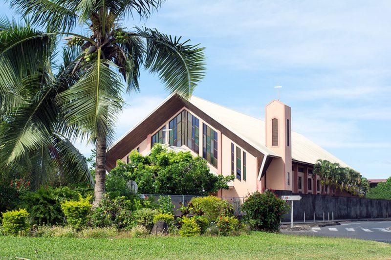 Eglise Sainte-Thérèse à Papeete © Tahiti Heritage