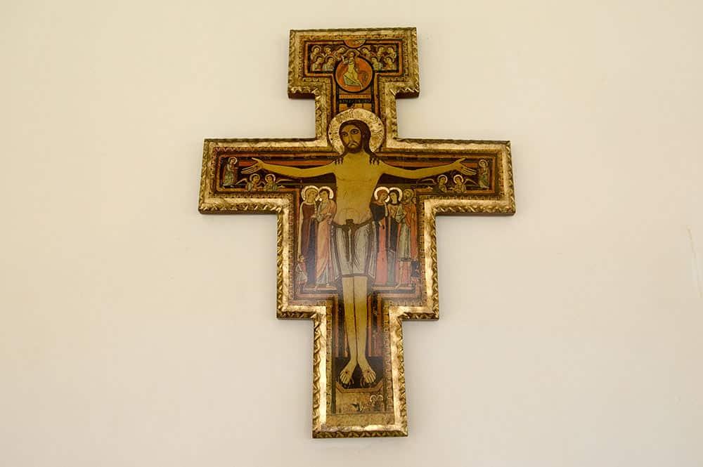 Crucifix de Saint-Damien de l'église Sainte-Anne de Papenoo