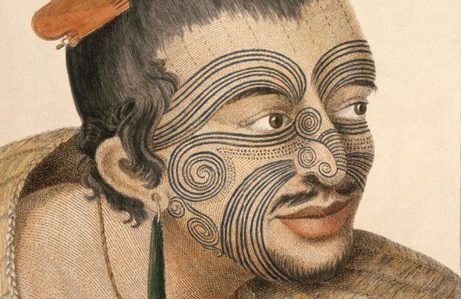 Tatouage Moko Maori