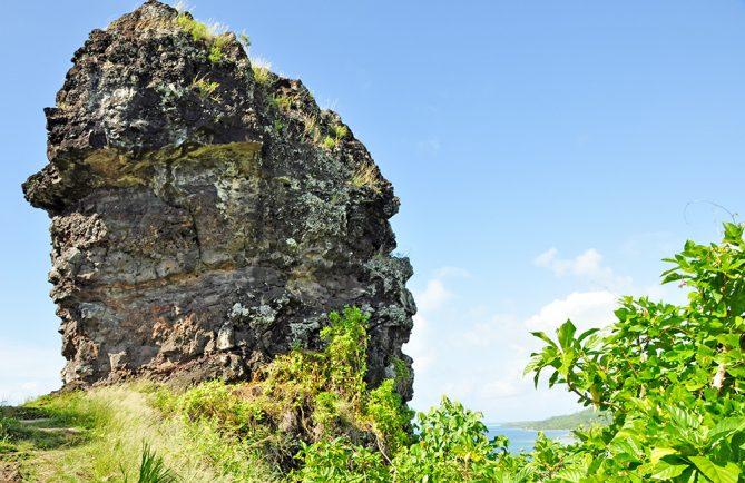 Doigt de Hiro, Bora Bora. Photo Elsa Fernicle