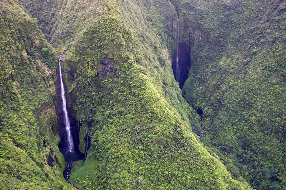 Cascades de la Faraura. Photo Club fe fetia o te mau mato