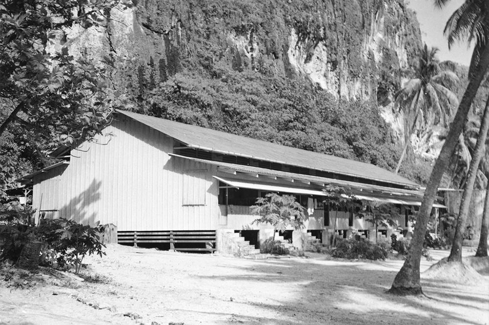 Logements de Temao, à Makatea