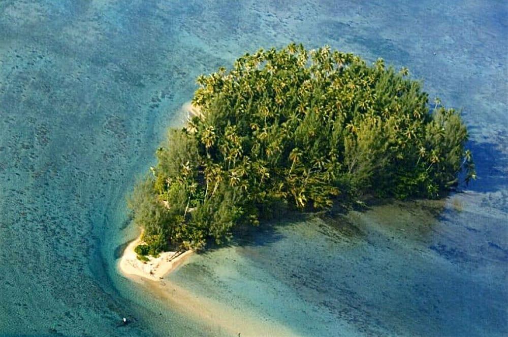 Motu Puuru à Mataeia Tahiti.