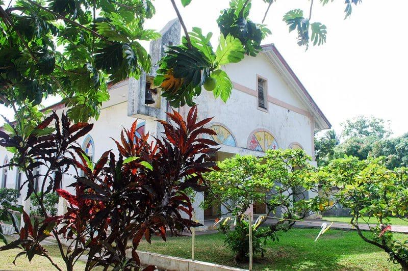 Vieux temple protestant de Maharepa