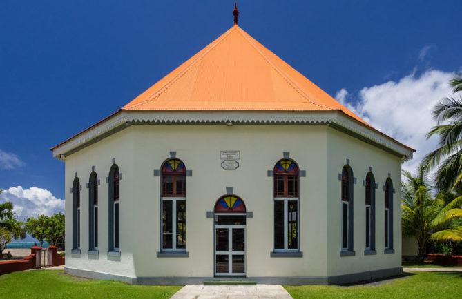 Temple Hebeneze de Papetoai, Moorea