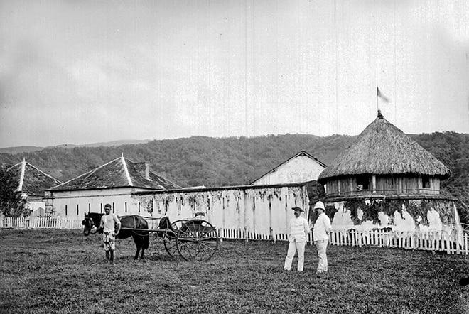 Fort de Taravao en 1897
