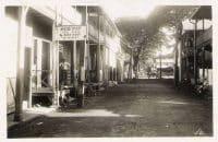 Restaurants chinois rue du marché en 1934