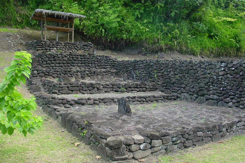 Marae de Farehape, Vallée de la Papenoo