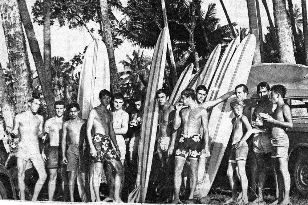 Tahiti Surf Club en 1966, Pupu Faahe'e