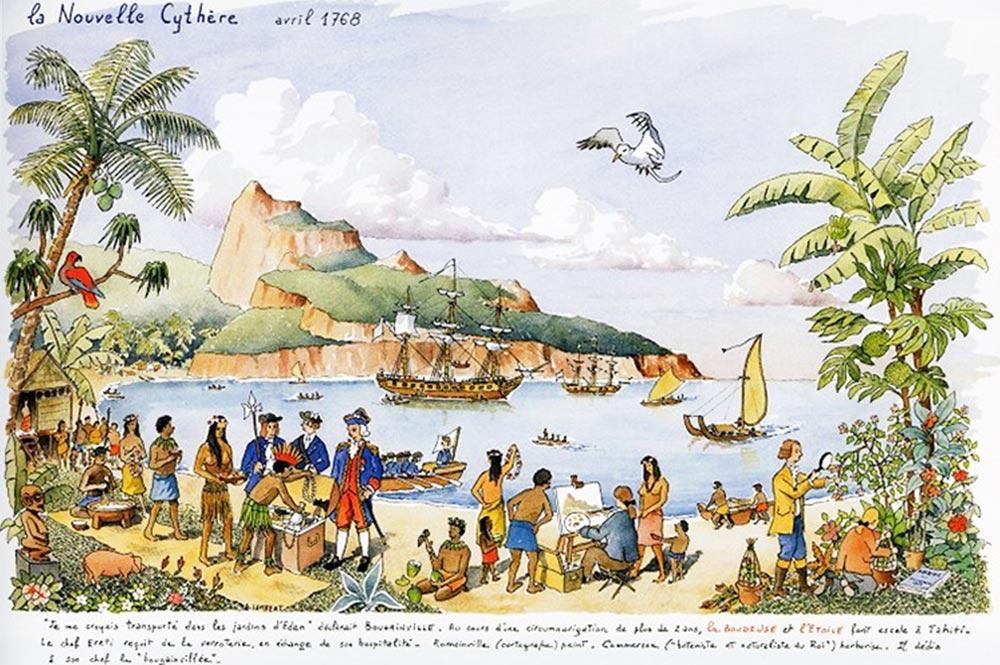 Ahutoru, le bon sauvage - Tahiti Heritage
