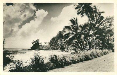 Route de ceinture à Orofara vers 1940