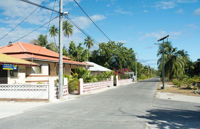 Le village Tuherahera à Tikehau