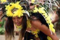 Hakamanu, danse de l'oiseau. Marquises. Photo Purutaa