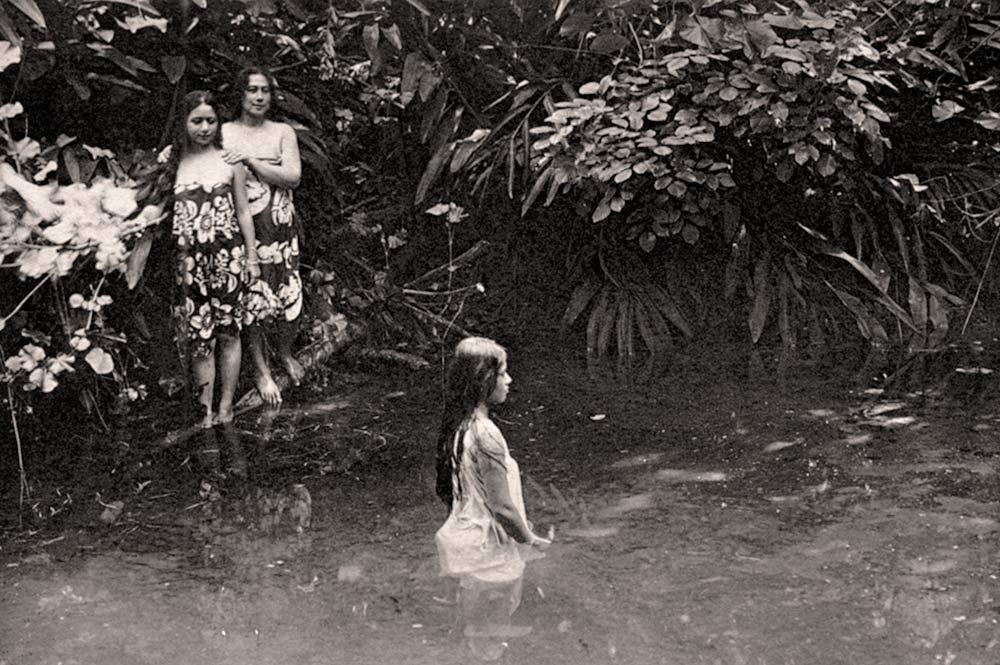 Le bain Loti en 1935 Photo Lucien Gauthier 1935.