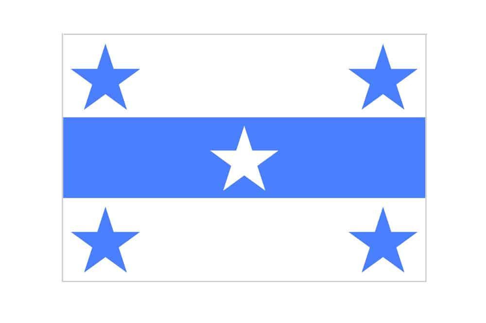drapeau des gambier bleu azur ou bleu outremer tahiti With association de couleurs avec le bleu 7 drapeau des gambier bleu azur ou bleu outremer tahiti