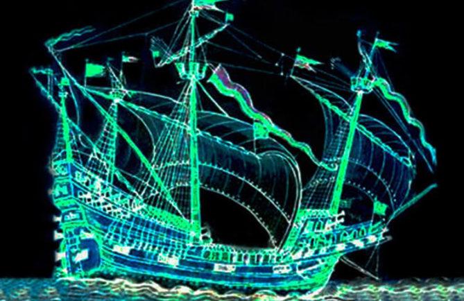Navire fantôme espagnol Paniora, Papara