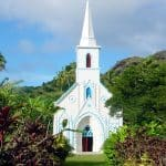 Église Saint-Gabriel de Taravai, Gambier