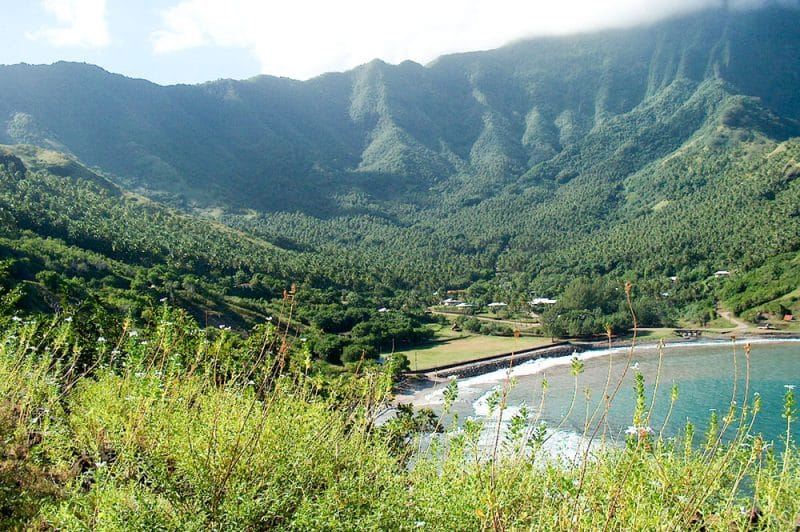 Baie de Hane à Ua Huka