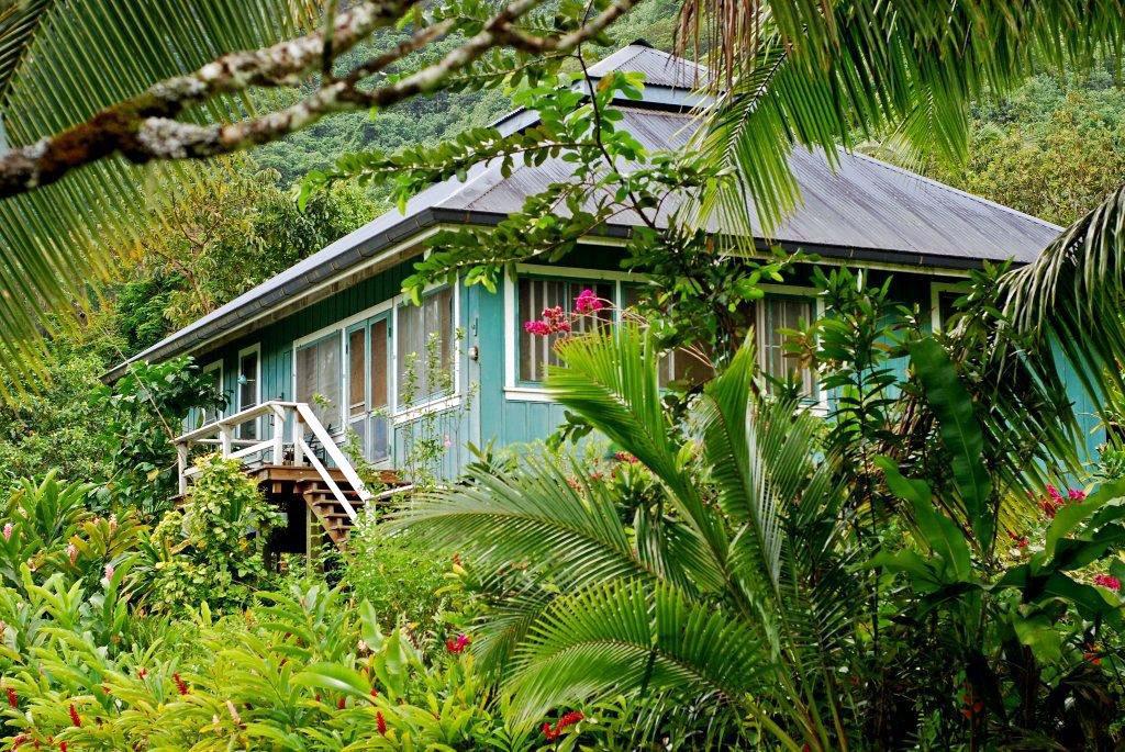 Maison Kellum à Opunohu, Moorea