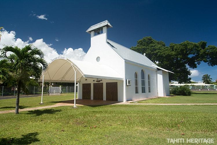Chapelle Saint-Louis de Arue, Tahiti © Tahiti Heritage