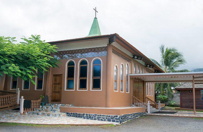 Eglise Christ-Roi de Faa'a, Tahiti. 2015