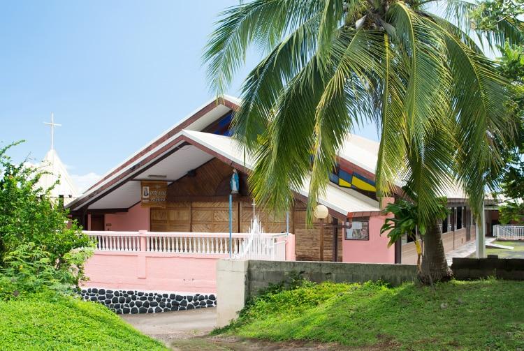 Eglise Notre-Dame des Graces, Faa'a, Tahiti
