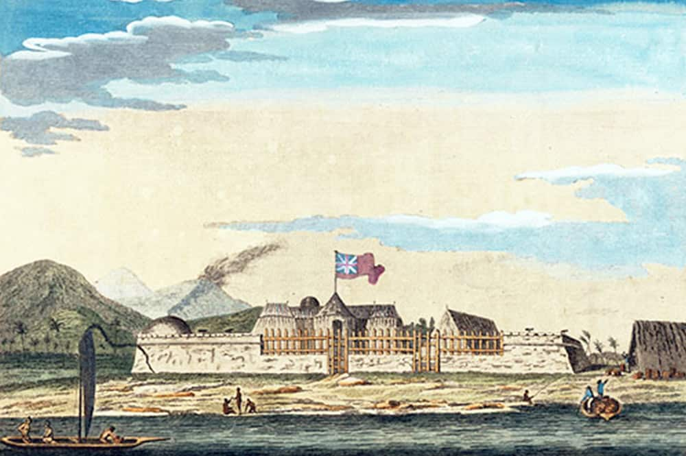 Fort Vénus, Mahina