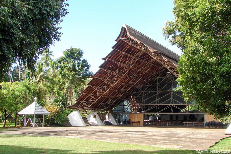 Eglise Maria no te hau de Papeete, Tahiti. © Tahiti Heritage