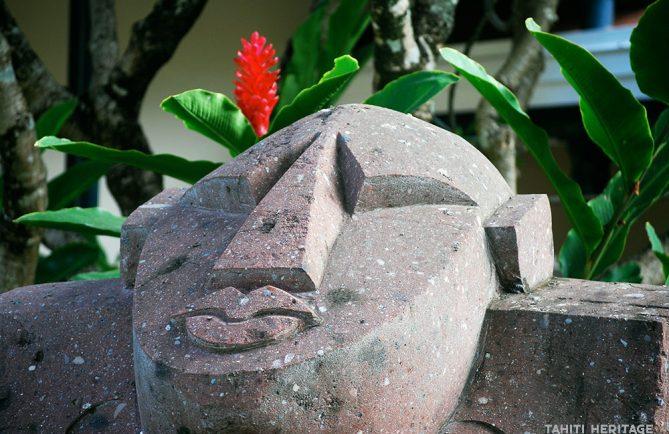 Tiki de la Présidence de la Polynésie française ©Tahiti Heritage